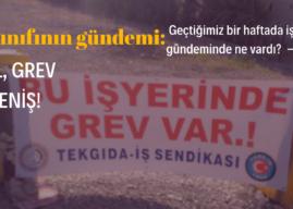 #İşçiSınıfınınGündemi, 17 Mayıs 2021: İşgal, Grev, Direniş!