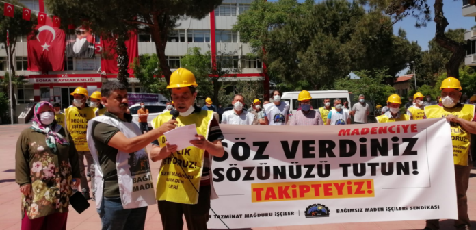 Uyar Maden İşçileri yasa çıkmazsa 21 Haziran'da Ankara'da!